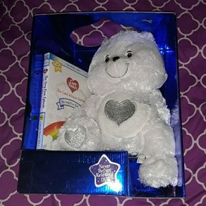 25th Anniversary Care Bear and DVD of 1st episode